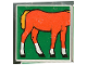 Part No: 2756pb043  Name: Duplo Tile 2 x 2 x 1 with Horse Mosaic Picture 07 Pattern (Set 1078)