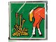 Part No: 2756pb046  Name: Duplo Tile 2 x 2 x 1 with Horse Mosaic Picture 10 Pattern (Set 1078)