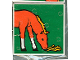 Part No: 2756pb047  Name: Duplo Tile 2 x 2 x 1 with Horse Mosaic Picture 11 Pattern (Set 1078)