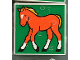 Part No: 2756pb048  Name: Duplo Tile 2 x 2 x 1 with Horse Mosaic Picture 12 Pattern (Set 1078)