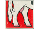 Part No: 2756pb058  Name: Duplo Tile 2 x 2 x 1 with Cow Mosaic Picture 04 Pattern (Set 1078)