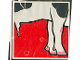 Part No: 2756pb059  Name: Duplo Tile 2 x 2 x 1 with Cow Mosaic Picture 05 Pattern (Set 1078)