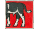 Part No: 2756pb063  Name: Duplo Tile 2 x 2 x 1 with Cow Mosaic Picture 09 Pattern (Set 1078)