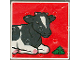 Part No: 2756pb065  Name: Duplo Tile 2 x 2 x 1 with Cow Mosaic Picture 11 Pattern (Set 1078)