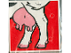 Part No: 2756pb072  Name: Duplo Tile 2 x 2 x 1 with Cow Mosaic Picture 18 Pattern (Set 1078)
