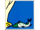 Part No: 2756pb168  Name: Duplo Tile 2 x 2 x 1 with Polar Bear Mosaic Picture 06 Pattern (Set 1079)