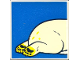 Part No: 2756pb172  Name: Duplo Tile 2 x 2 x 1 with Polar Bear Mosaic Picture 10 Pattern (Set 1079)