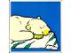 Part No: 2756pb173  Name: Duplo Tile 2 x 2 x 1 with Polar Bear Mosaic Picture 11 Pattern (Set 1079)
