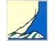 Part No: 2756pb180  Name: Duplo Tile 2 x 2 x 1 with Polar Bear Mosaic Picture 18 Pattern (Set 1079)