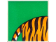 Part No: 2756pb181  Name: Duplo Tile 2 x 2 x 1 with Tiger Mosaic Picture 01 Pattern (Set 1079)