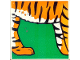 Part No: 2756pb185  Name: Duplo Tile 2 x 2 x 1 with Tiger Mosaic Picture 05 Pattern (Set 1079)