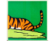 Part No: 2756pb188  Name: Duplo Tile 2 x 2 x 1 with Tiger Mosaic Picture 08 Pattern (Set 1079)