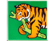 Part No: 2756pb191  Name: Duplo Tile 2 x 2 x 1 with Tiger Mosaic Picture 11 Pattern (Set 1079)