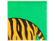 Part No: 2756pb195  Name: Duplo Tile 2 x 2 x 1 with Tiger Mosaic Picture 15 Pattern (Set 1079)