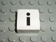 Part No: 2756pb344  Name: Duplo Tile 2 x 2 with Lowercase i Pattern (Set 1018)