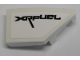 Part No: 29119pb004  Name: Wedge 2 x 1 with Stud Notch Right with 'XRFUEL' Pattern (Sticker) - Set 42095
