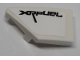Part No: 29120pb004  Name: Wedge 2 x 1 with Stud Notch Left with 'XRFUEL' Pattern (Sticker) - Set 42095