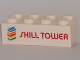 Part No: 3001pb132  Name: Brick 2 x 4 with 'SKILL TOWER' Pattern (PlayDay 2018)