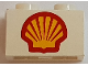 Part No: 3004p60  Name: Brick 1 x 2 with Shell Logo I Pattern