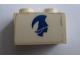 Part No: 3004pb054R  Name: Brick 1 x 2 with Blue Britannia Logo Right Pattern (Sticker) - Set 1599