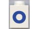 Part No: 3005ptOb  Name: Brick 1 x 1 with Blue 'O' Pattern (Bold Font)