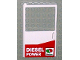 Part No: 30073pb01  Name: Door 1 x 6 x 8 Left with Octan Logo and 'DIESEL POWER' Pattern (Sticker) - Set 5563