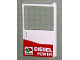 Part No: 30074pb01  Name: Door 1 x 6 x 8 Right with Octan Logo and 'DIESEL POWER' Pattern (Sticker) - Set 5563