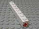 Part No: 3008pb075  Name: Brick 1 x 8 with Red Cross Pattern on End of Brick (Sticker)