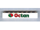 Part No: 3008pb119  Name: Brick 1 x 8 with Octan Logo Pattern (Sticker) - Set 6539