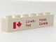 Part No: 3009pb027  Name: Brick 1 x 6 with Canada Post Logo Pattern