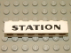 Part No: 3009pb089  Name: Brick 1 x 6 with Black 'STATION' Text Pattern
