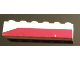 Part No: 3009pb104L  Name: Brick 1 x 6 with Dark Red Bottom Stripe Slope at Left End Pattern - Set 611-2