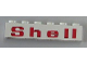 Part No: 3009pb156  Name: Brick 1 x 6 with Red 'Shell' Wide Pattern