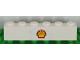 Part No: 3009pb196  Name: Brick 1 x 6 with Shell Logo Pattern (Sticker) - Set 1256