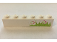 Part No: 3009pb206  Name: Brick 1 x 6 with Grass and Hearts Pattern (Sticker) - Set 7586