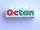Part No: 3010pb021  Name: Brick 1 x 4 with Octan Pattern