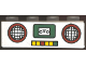 Part No: 3010pb069  Name: Brick 1 x 4 with Radio Pattern (Sticker) - Set 4165