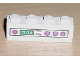 Part No: 3010pb083  Name: Brick 1 x 4 with Dark Pink Knobs and 13:26 Clock Pattern (Sticker) - Set 5895