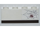 Part No: 3010pb130  Name: Brick 1 x 4 with Spider and Web on Right Side Pattern (Sticker) - Set 6242