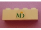 Part No: 3010pb132  Name: Brick 1 x 4 with MD Foods Logo Pattern (Sticker) - Set 1952