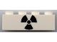Part No: 3010pb228  Name: Brick 1 x 4 with Black Radiation Symbol Pattern