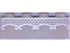 Part No: 3010pb282  Name: Brick 1 x 4 with Silver Lace Pattern (BrickHeadz Bride Torso)
