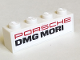 Part No: 3010pb308  Name: Brick 1 x 4 with 'PORSCHE' and 'DMG MORI' Pattern on Both Sides (Stickers) - Set 75887