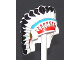 Part No: 30138pb01  Name: Minifigure, Headgear Headdress Indian with Colored Feathers Pattern
