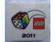 Part No: 30144pb108  Name: Brick 2 x 4 x 3 with Lego Games 2011 Pattern