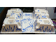 Part No: 30271px6  Name: Baseplate, Raised 32 x 48 x 6 with Arctic Blue Ice Pattern