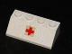 Part No: 3037pb044  Name: Slope 45 2 x 4 with Red Cross Pattern (Sticker) - Sets 386/770