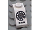 Part No: 3040pb003  Name: Slope 45 2 x 1 with Rotary Phone Black Pattern