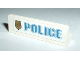 Part No: 30413pb002L  Name: Panel 1 x 4 x 1 with Blue 'POLICE' with World City Gold Police Badge on Left Pattern (Sticker)