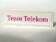 Part No: 30413pb011  Name: Panel 1 x 4 x 1 with 'Team Telekom' Pattern (Sticker) - Set 1199